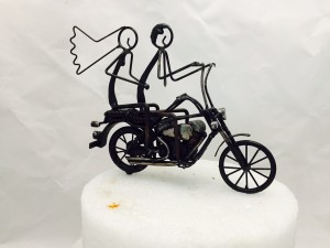 Custom Motorcycle Cake Topper