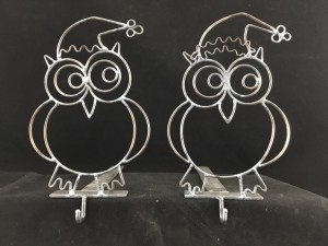 Owl Stocking Hangers