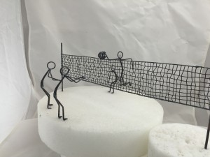 Volleyball Cake Topper