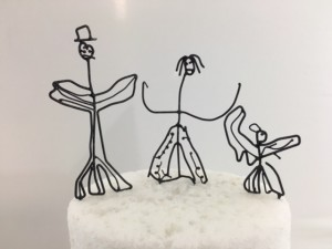 Child's Art Cake Topper