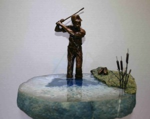 Golf Sculpture