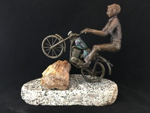 Bronze Motorcycle