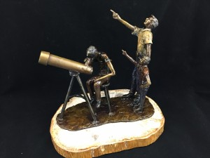 Telescope Sculpture