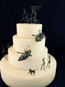Outdoor Sports Cake Topper